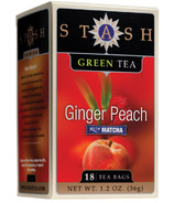 Stash Ginger Peach Green Tea