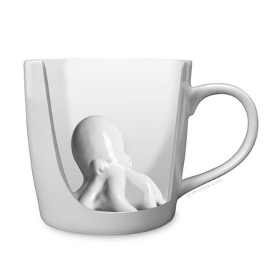 Accoutrements Octopus Porcelain Mug
