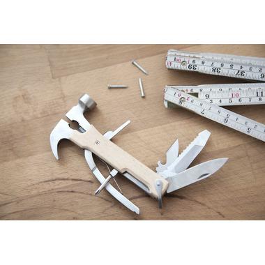 Kikkerland Wood Multi Function Hammer Tool