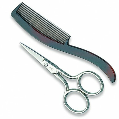 Sow Good Mustache Scissors & Comb