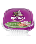 Whiskas Recloseable Tray Chicken & Liver Dinner