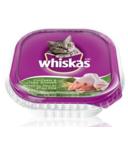 Whiskas Recloseable Tray Chicken & Liver Dinner