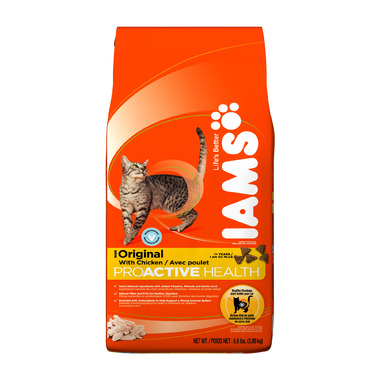 Iams Cat ProActive Health Adult Original With Chicken 6.8 lbs