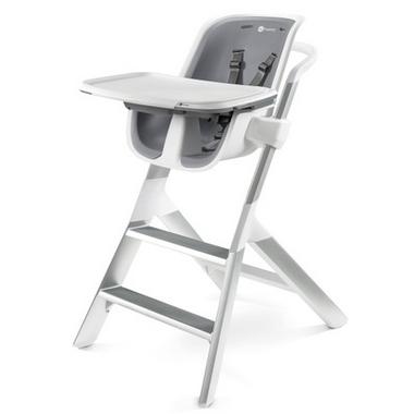 4moms High Chair White & Grey