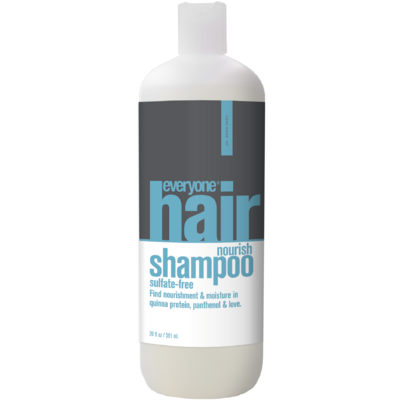 everyone hair nourish sulfate free shampoo 591 ml