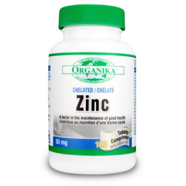 Organika Chelated Zinc