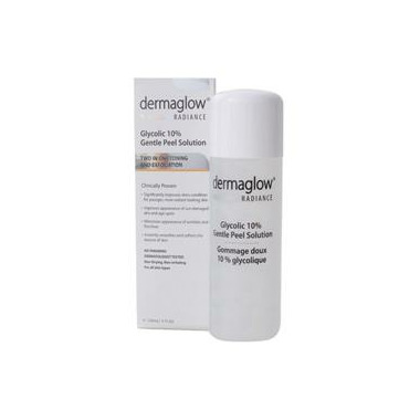 dermaglow Radiance Glycolic 10% Gentle Peel Solution