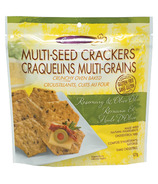 Crunchmaster Gluten Free Multi-Seed Crackers Rosemary & Olive Oil