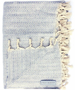 Stray & Wander Reve Blanket Light Grey