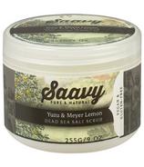 Saavy Naturals Salt Scrub Yuzu & Meyer Lemon