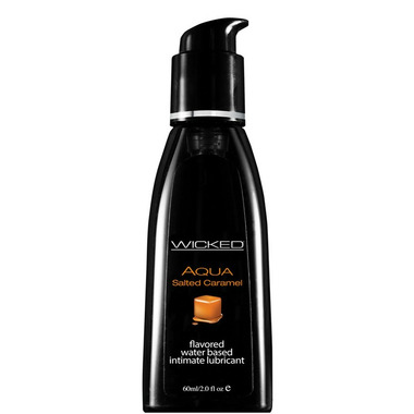 Wicked Sensual Care Aqua Salted Caramel Flavored Lube