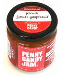 Penny Candy Jam Preserved Fruit Jam Peach, Guava and Grapefruit