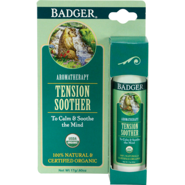 Badger Aromatherapy Tension Soother Balm Stick