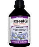Webber Naturals Flaxseed Oil Liquid