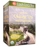Uncle Lee's Whole Leaf Organic Oolong Tea with Ginseng