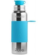 Pura Sport Insulated Water Bottle Aqua