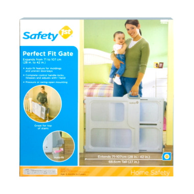 Buy Safety 1st Perfect Fit Gate At Well Ca Free Shipping