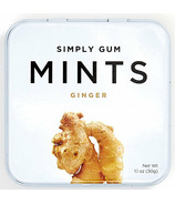 Simply Gum Ginger Natural Mints