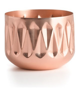 Illume Woodfire Medium Radiant Metal Candle