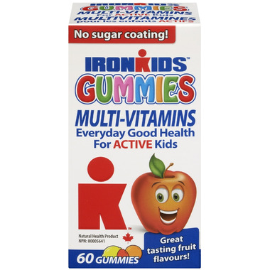 IronKids Gummies Multi-Vitamins for Active Kids