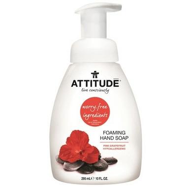 ATTITUDE Foaming Hand Soap Pink Grapefruit