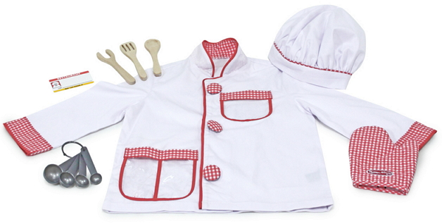 Buy Melissa Amp Doug Chef Role Play Costume Set At Well Ca