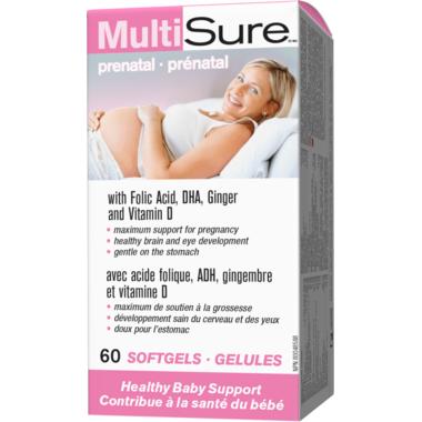 MutiSure Prenatal Multivitamin & Mineral Supplement