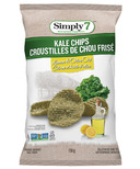 Simply7 Kale Chips Olive Oil Lemon