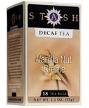 Stash Vanilla Nut Creme Decaf Tea