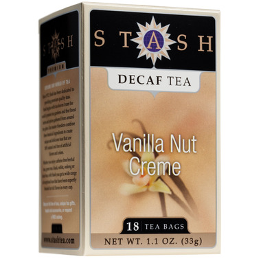 Stash Vanilla Nut Creme Decaf Tea