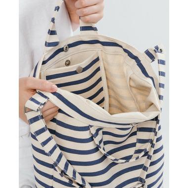 Baggu Duck Bag in Sailor Stripe