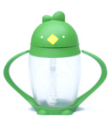 Lollacup Straw Sippy Cup Good Green