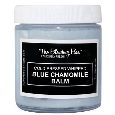 Nuworld Botanicals The Blending Bar Cold-Pressed Blue Chamomile Balm