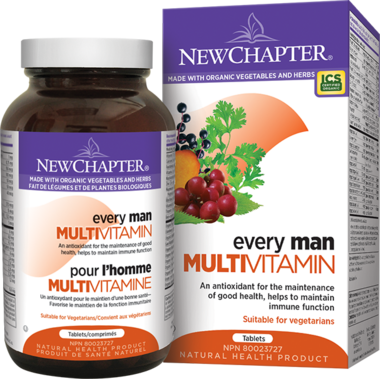 New Chapter Every Man Vitamin & Mineral Supplement