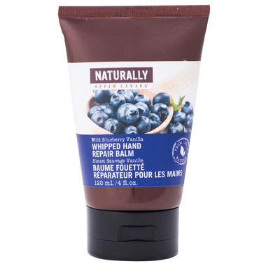 Naturally Upper Canada Wild Blueberry Vanilla Whipped Hand Repair Balm