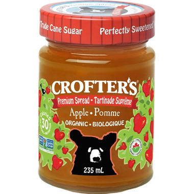 Crofter\'s Organic Apple Premium Spread
