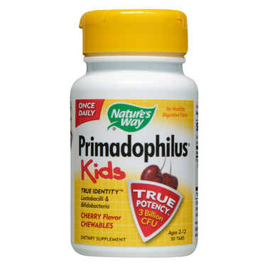 Nature\'s Way Primadophilus Kids Cherry Chewables
