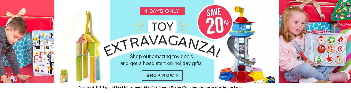 Shop Early & Save 20% - 4 Day Toy Event