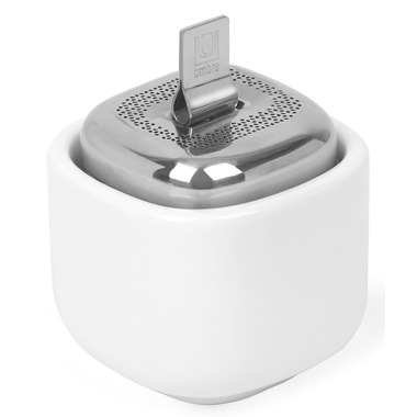 Umbra Cutea Tea Infuser White & Nickel