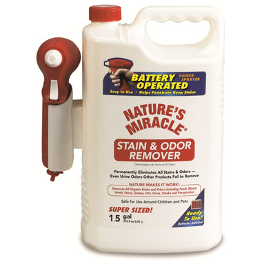 Nature\'s Miracle Stain & Odour Remover Power Sprayer