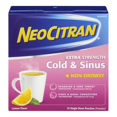 NeoCitran Extra Strength Cold & Sinus Non-Drowsy