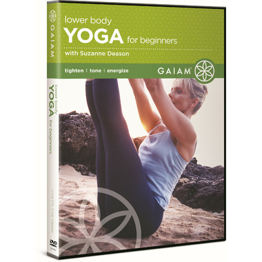 Gaiam: Lower Body Yoga For Beginners DVD