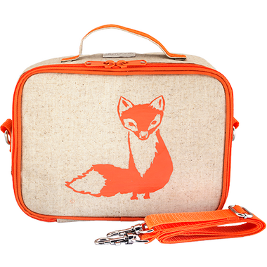 buy so young lunch box orange fox at free shipping 35 in canada. Black Bedroom Furniture Sets. Home Design Ideas