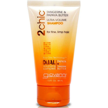 Giovanni 2chic Tangerine & Papaya Ultra-Volume Shampoo Travel Size