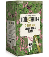 Heath & Heather Organic Green Tea & Rama Tulsi