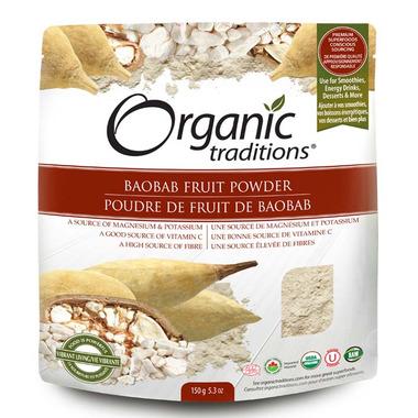 Organic Traditions Baobab Fruit Powder