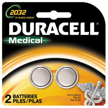 Duracell Lithium 2032 Medical Batteries