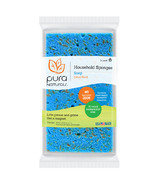 Pura Naturals Household Soap-Infused Sponge Citrus Burst