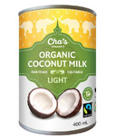Cha's Organics Light Coconut Milk