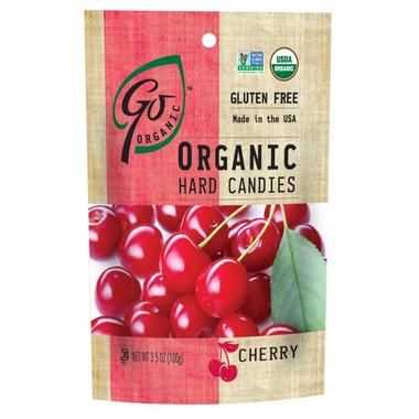 Go Organic Cherry Hard Candies